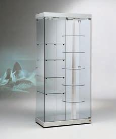 glasvitrine drehbar bestseller shop f r m bel und einrichtungen. Black Bedroom Furniture Sets. Home Design Ideas